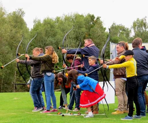 Archerytag met heel de familie