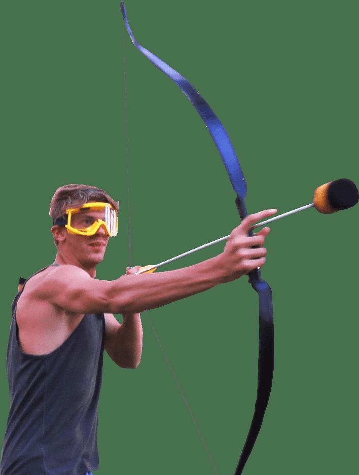 stoere kerel speel archerytag