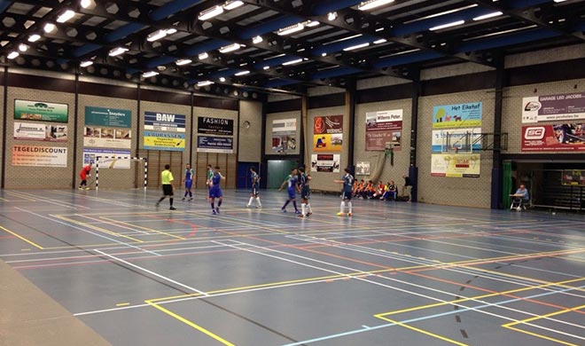 Archery tag in sporthal Beerse