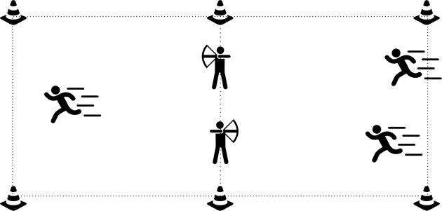 archery tag spelvariant dikke berta
