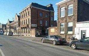 verhuurpunt Gent straat kant