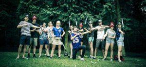 archery tag groepsfoto